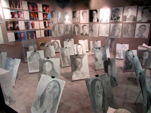 SJCCA Art Gallery @SAHS ''self portraits''